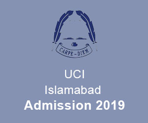UCI University College of Islamabad Admissions