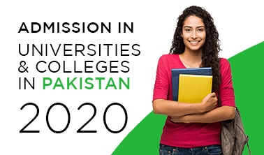university colleges admission Pakistan 2020