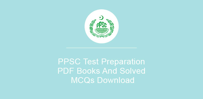 PPSC Test Preparation PDF Books And Solved MCQs