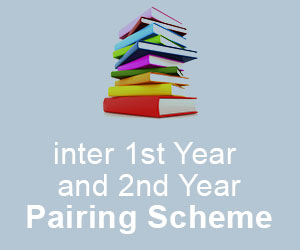 Pairing Scheme inter 1st Year and 2nd Year