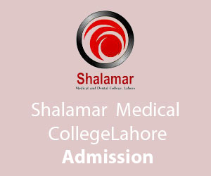 shalamar medical and dental college fee structure 2018