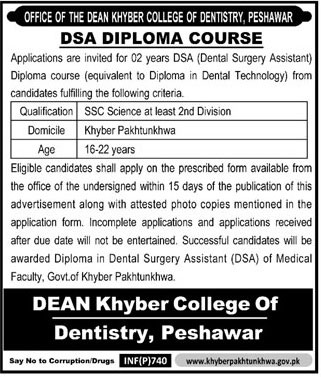 DEAN Khyber College Of Dentistry Peshawar