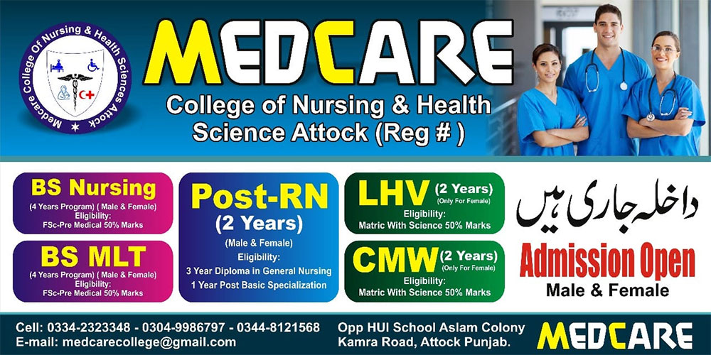 Medcare college of Nursing and Health sciences