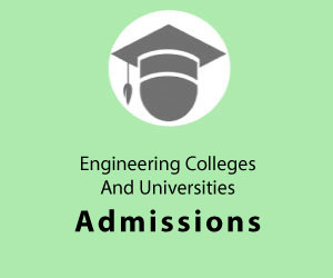 Engineering Universities and Colleges Admissions Advertisements
